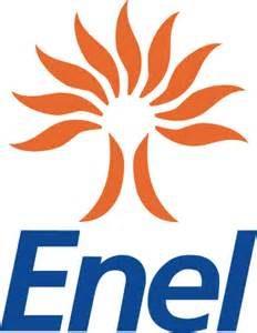 Un logo dell' Enel