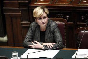 Federica Guidi alla Camera dei Deputati