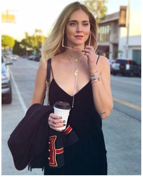 Chiara Ferragni: il 2017, su Instagram comincia