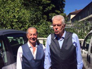 Franco Perrello: è morto lo sposo di 83 anni, primo esempio a Torino di unioni civili (foto Ansa)