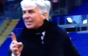 """Gian Piero Gasperini insulta Pairetto durante Lazio-Atalanta: """"Testa di c..."""" VIDEO"""