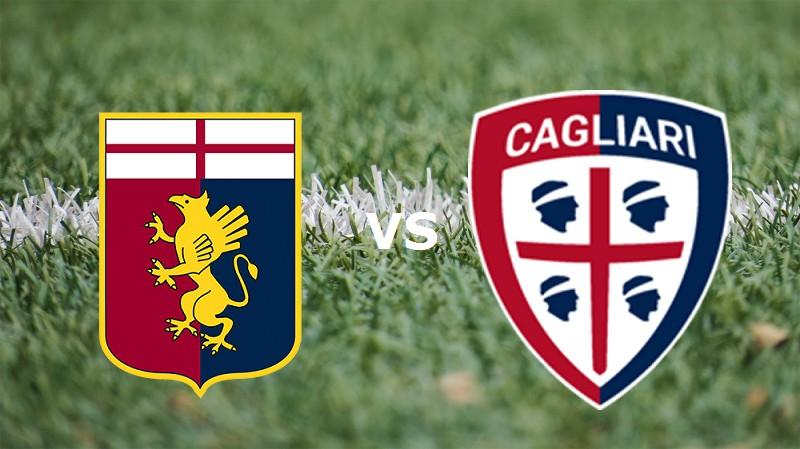 Cagliari-Genoa 4-1 video gol highlights, pagelle, foto: Borriello decisivo