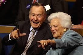 George Bush e la moglie Barbara ricoverati in ospedale a Houston