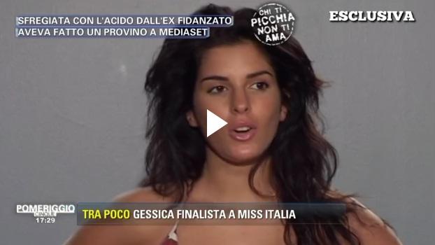Gessica Notaro, il provino per Mediaset prima che l'ex la sfregiasse con l'acido