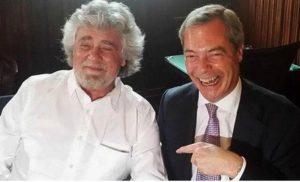 M5s torna da Ukip dopo lo schiaffo di Alde: pace fatta ma...alle condizioni di Farage