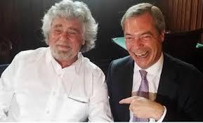 Beppe Grillo torna da Farage che lo punisce. E ora referendum sull'euro