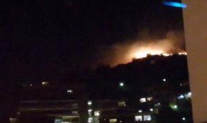 YOUTUBE Genova: incendio a Pegli, fuoco tra le case. A Nervi tutto ok