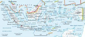 Terremoto in Indonesia: scossa di magnitudo 7.2 nel Mare di Celebes