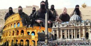 Isis torna a minacciare Roma: in un video bandiere nere al Colosseo