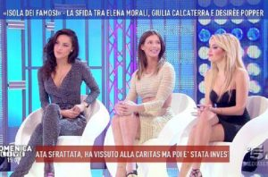 Isola dei Famosi, televoto: Desiree Popper, Giulia Calcaterra o Elena Morali?