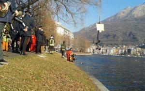 Ossa di 2 persone in minicar ripescata nel lago d'Orta