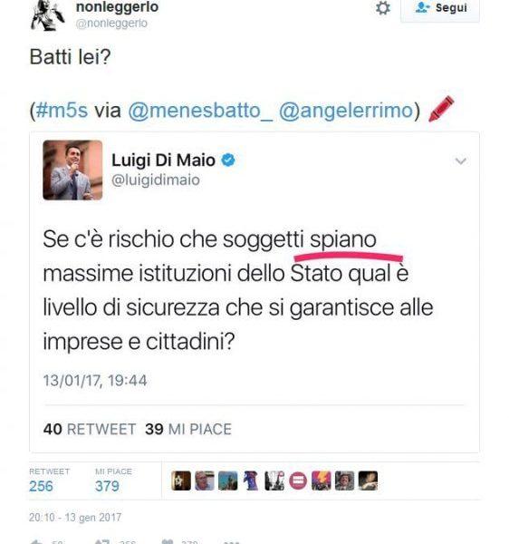 Luigi Di Maio e i congiuntivi sbagliati su Twitter FOTO4