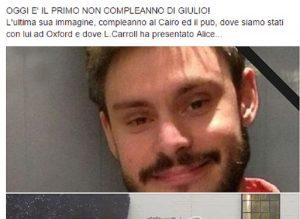 """Paola Deffendi, mamma Giulio Regeni su Fb: """"Oggi primo non compleanno"""""""