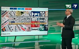 """YOUTUBE Enrico Mentana querela Beppe Grillo: """"Dice fesserie"""""""
