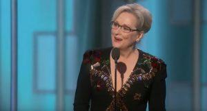 "YOUTUBE Meryl Streep contro Trump ai Golden Globe. E lui: ""Hillary lover"""