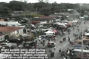 YOUTUBE Miami, spari durante il Martin Luther king Day: due feriti gravi