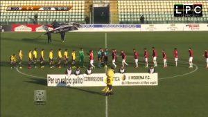 Modena-Teramo Sportube: streaming diretta live, ecco come vedere la partita