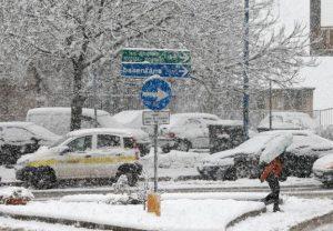 Neve, gelo e vento: allerta meteo in tutta Italia venerdì 13 gennaio