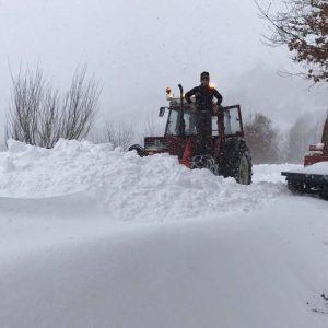 Scuole chiuse per neve nelle Marche mercoledì 18 gennaio