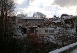 Neve al Centro Sud: in Umbria e Marche, dove ci fu il terremoto...FOTO