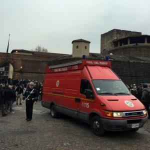 Firenze, allarme bomba a Pitti Uomo