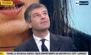 Terremoto Roma, scossa in diretta negli studi di Rainews 24 VIDEO