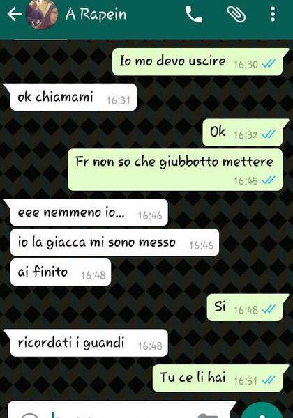 Barletta, rapina organizzata su Whatsapp. Incastrati dalla chat FOTO2