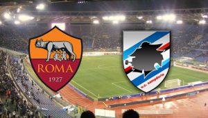Roma Sampdoria diretta, formazioni ufficiali dalle ore 20.30
