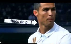 """YOUTUBE Cristiano Ronaldo fischiato al Bernabeu. Lui ai tifosi: """"Figli di p..."""""""