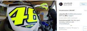Valentino Rossi, VIDEO in soggettiva mentre guida la moto da cross