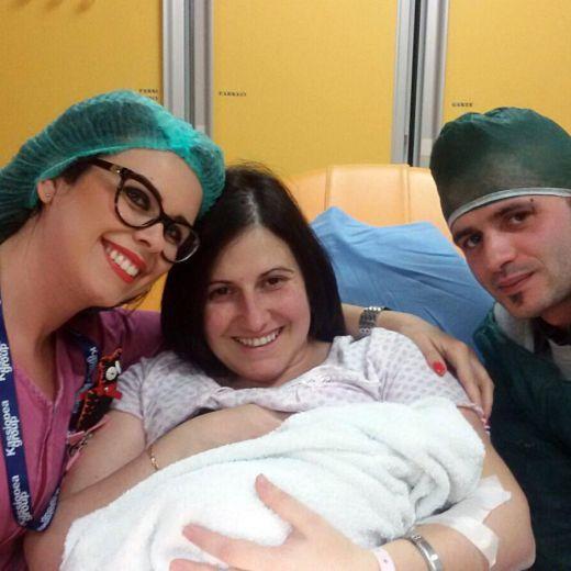 Capodanno, è sarda la prima nata in Italia nel 2017 FOTO