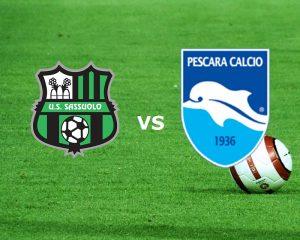 Pescara-Sassuolo streaming - diretta tv, dove vederla