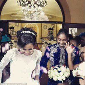 Caster Semenya sposa: vestito bianco per la bella della superandrogina