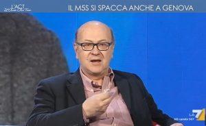 """YOUTUBE Sergio Rizzo: """"A Roma avrebbe vinto anche il barboncino di Beppe Grillo"""""""