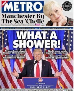 Golden shower, cos'è. E grazie a Trump diventa trend topic su Google