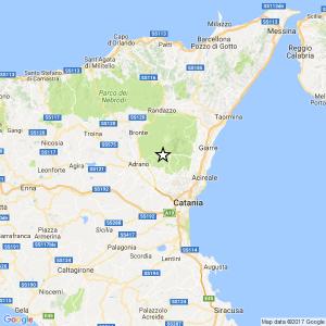 Terremoto Sicilia, scossa 3.2 in provincia di Catania