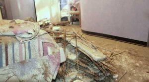 Nuoro, le crolla soffitto in testa mentre dorme: 62enne salva per miracolo