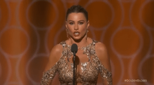 YOUTUBE Sofia Vergara e la battuta maliziosa ai Golden Globe