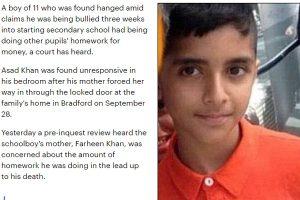 Ragazzo di 11 anni si impicca: a scuola compagni lo costringevano a fare compiti loro