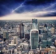 Maltempo a Londra