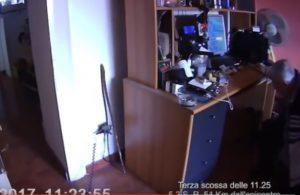 erremoto Centro Italia, Terni: uomo cade dalla sedia durante la scossa