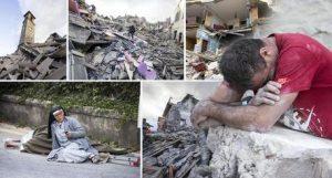 INGV: oltre 47.600 terremoti dal 24 agosto (foto Ansa)