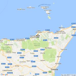 Terremoto Messina, scossa del 3.4 tra Longi e Frazzanò