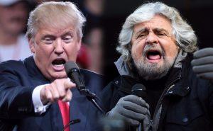 Governi, vedi Trump e pensi a Grillo, vedi Grillo e pensi a Trump