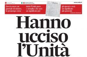 L'Unità è il nervo scoperto del Pd: Vincenzo Vita su il Manifesto