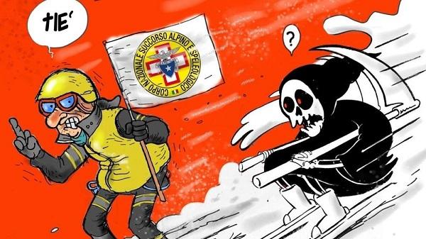 Rigopiano. Vignetta Charlie Hebdo? Ecco la risposta italiana FOTO