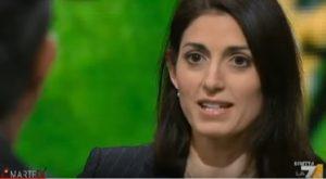 """YOUTUBE Virginia Raggi cita Quelo di Corrado Guzzanti: """"La domanda è mal posta"""""""