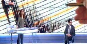 """Terremoto 18 gennaio, Saluzzi in diretta su Sky durante seconda scossa: """"È forte"""""""
