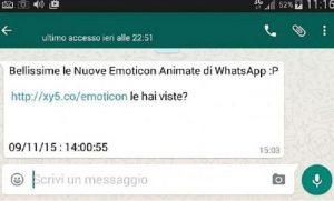 Whatsapp: virus trojan. File Excel con emoticon svuota conti online