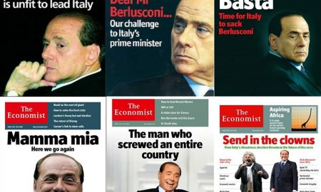 Berlusconi perde causa contro Economist: pagherà 10mila euro di spese legali